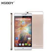 Xgody ursprüngliche 6 zoll 3g smartphone android 5.1 mtk quad core dual-sim-karte freigeschaltet 3g gsm/wcdma handy