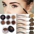 Venda quente 5 Cores Naturais Pomada Brow Liner Sobrancelha Olhos Cosméticos À Prova D' Água de Longa duração