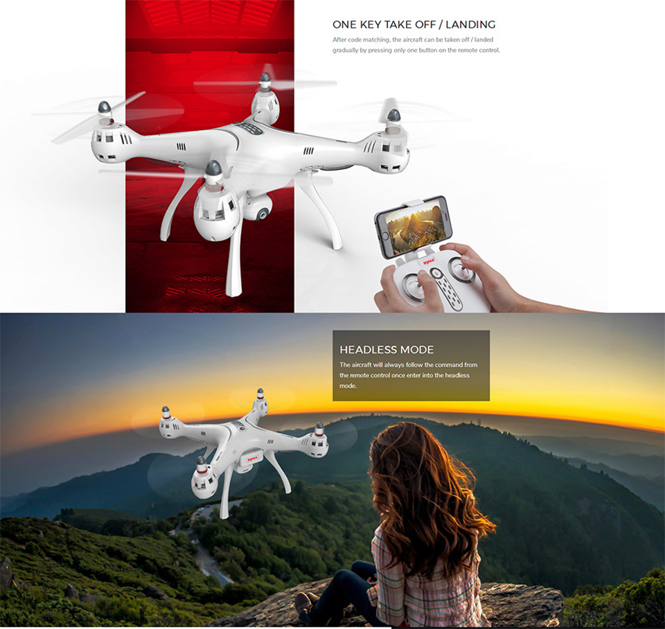 SYMA X8PRO GPS FPV RC Drone With 720P Camera or H9R 4K/1080P WIFI Camera 2.4G 4CH 6 Axis X8PRO RC Quadcopter Helicopter toys