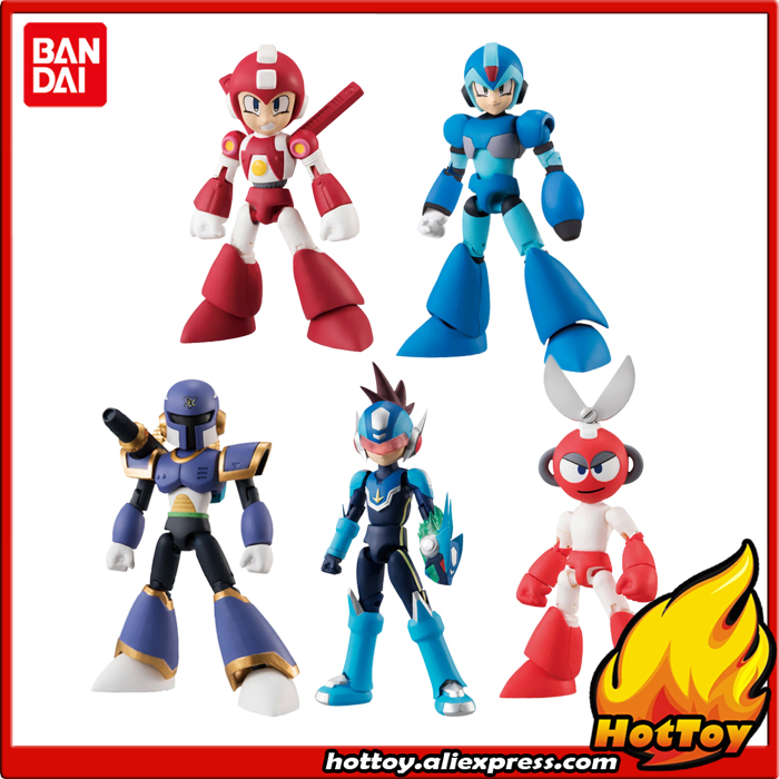 Mega Man 66 Action Character Candy Toy Mini Figure Vol.2 Blind Box 1 Out of 5 variants in Each Box