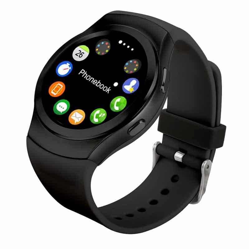 2017 no. 1 g3 smart watch ronda ips con tarjeta sim Bluetooth 4.0 Monitor Del Ri