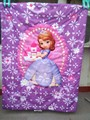 Girl baby quilt Children quilt blanket Pretty Princess pattern bedding product