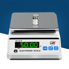 Electronic Balance Scale Precision Square Plate 5KG Accuracy 0.1KG High Precision Electronic Scale Hld-tp laboratory balance scale 50g 0 001g high precision jewelry diamond gem lcd digital electronic scale counting function portable
