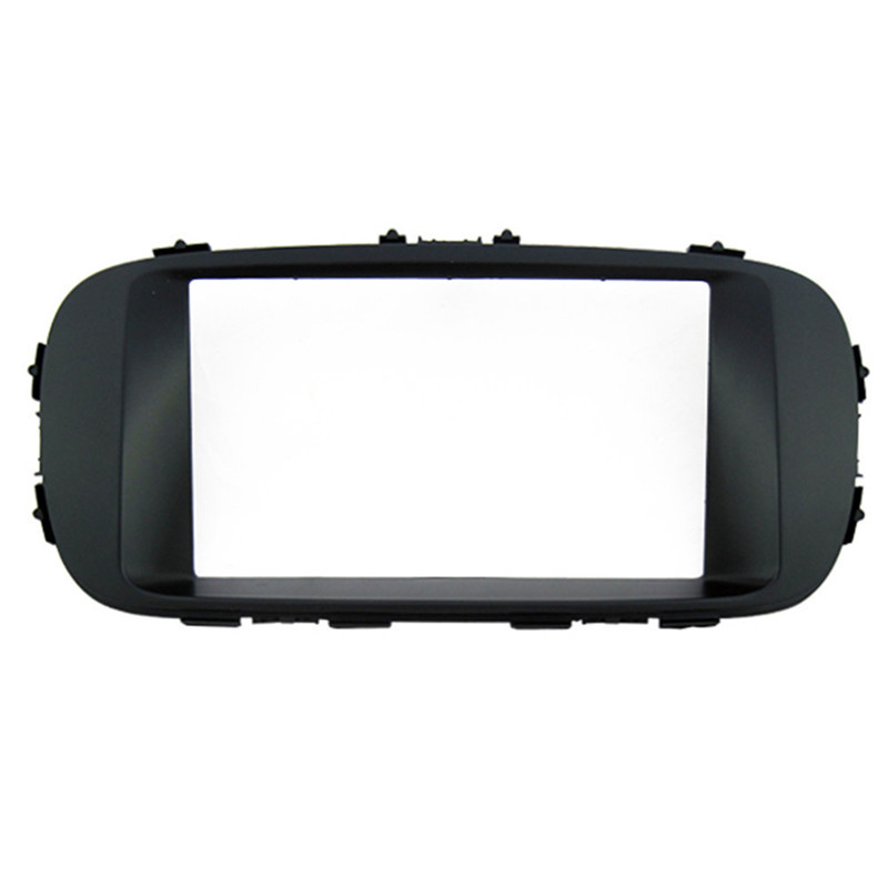navitopia car dash frame radio fascia for kia soul 2014. Black Bedroom Furniture Sets. Home Design Ideas