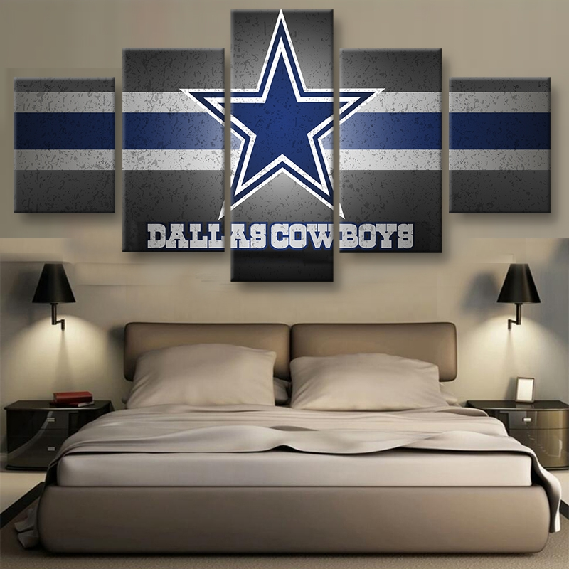 Modern Home Wall Art Framed Pictures Sports Rugby Room Decor HD Printed  Posters 5 Pieces Dallas Cowboys Canvas Painting PENGDA. Online Get Cheap Dallas Cowboy Decor  Aliexpress com   Alibaba Group