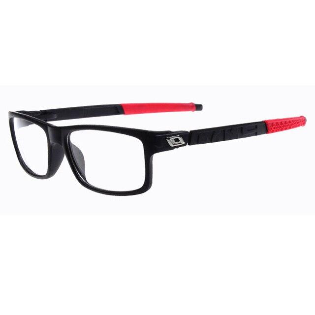 48fe52f84b4 2018 New PC Square Sport Eyeglasses Frames Men Women Optical Plain Mirror Eye  Glasses Frame for Myopia Glasses outdoor eyewear
