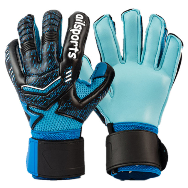 Professional Goalkeeper's Gloves with Finger Protection