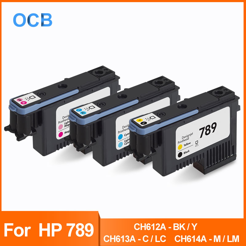 For <font><b>HP</b></font> 789 Printhead Latex Ink Print Head For <font><b>HP</b></font> <font><b>DesignJet</b></font> <font><b>L25500</b></font> Printer CH612A- BK/Y CH613A- C/ LC CH614A-M/LM Print Head image