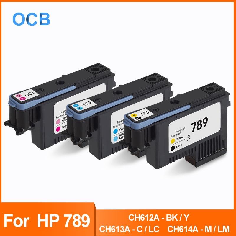 Pour tête d'impression HP 789 tête d'impression en Latex pour imprimante HP DesignJet L25500 CH612A-BK/Y CH613A-C/LC CH614A-M/LM