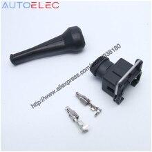 EV1 927 374 3 2Pin EFI Fuel Injector Connector Waterdichte Elektrische Draad Connector Plug 1jz ev6 ev14 voor Bosch AMP Tyco te