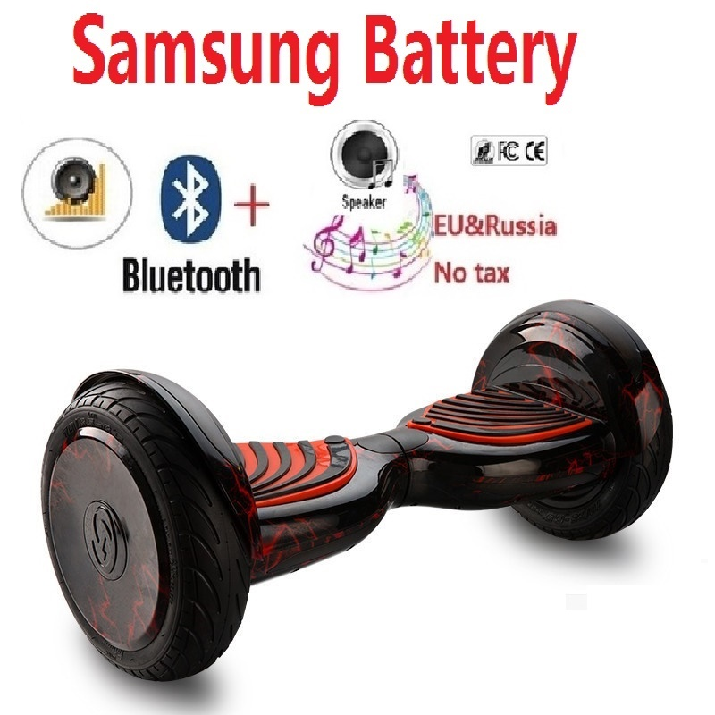10 inch Electric self balancing scooter hoverboard skateboard boosted board electric hover board 2 wheel skateboard oxboard