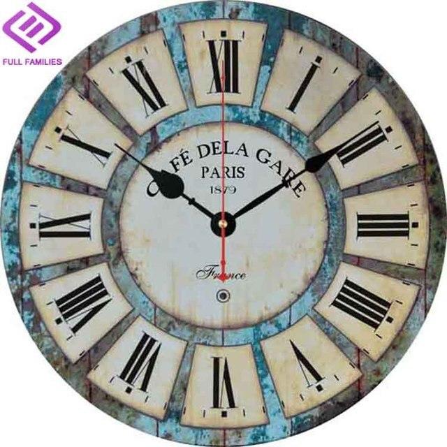 Grandes relojes de pared decorativos reloj de pared de - Relojes decorativos pared ...