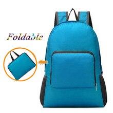 New Ultra-light Foldable Travel Backpack Portable Sport Backpacks multi-function skin sports bag Hiking Backpacks