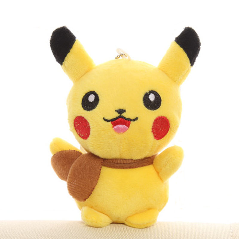 New Quality 13CM Height Stuffed Toy Cute Pikachu Plush Toy Doll Cat Stuffed Plush Doll Stuffed Animal Plush Toy Doll B0843