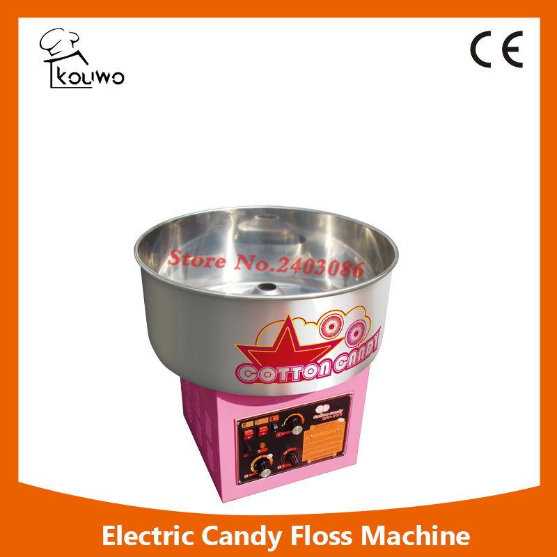 KW-771 high quality  electric pink cotton candy floss maker machine  candy floss sugar mix machine for commercial use edtid new high quality small commercial ice machine household ice machine tea milk shop