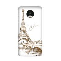 France Paris Tour Eiffel Arc De Triomphe Amour Carte Drapeau Cas pour Moto pour Motorola Z Z2 Force Jouer Magnétique Mods Couverture PhoneCase