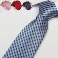 Gravata dos homens da forma floral listrado laços para os homens de negócios gravata black tie vermelho roxo adulto 8 cm