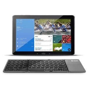 Image 5 - VONTAR 휴대용 접는 러시아어 무선 키보드 블루투스 충전식 BT 터치 패드 키패드 IOS/안 드 로이드/Windows ipad 태블릿