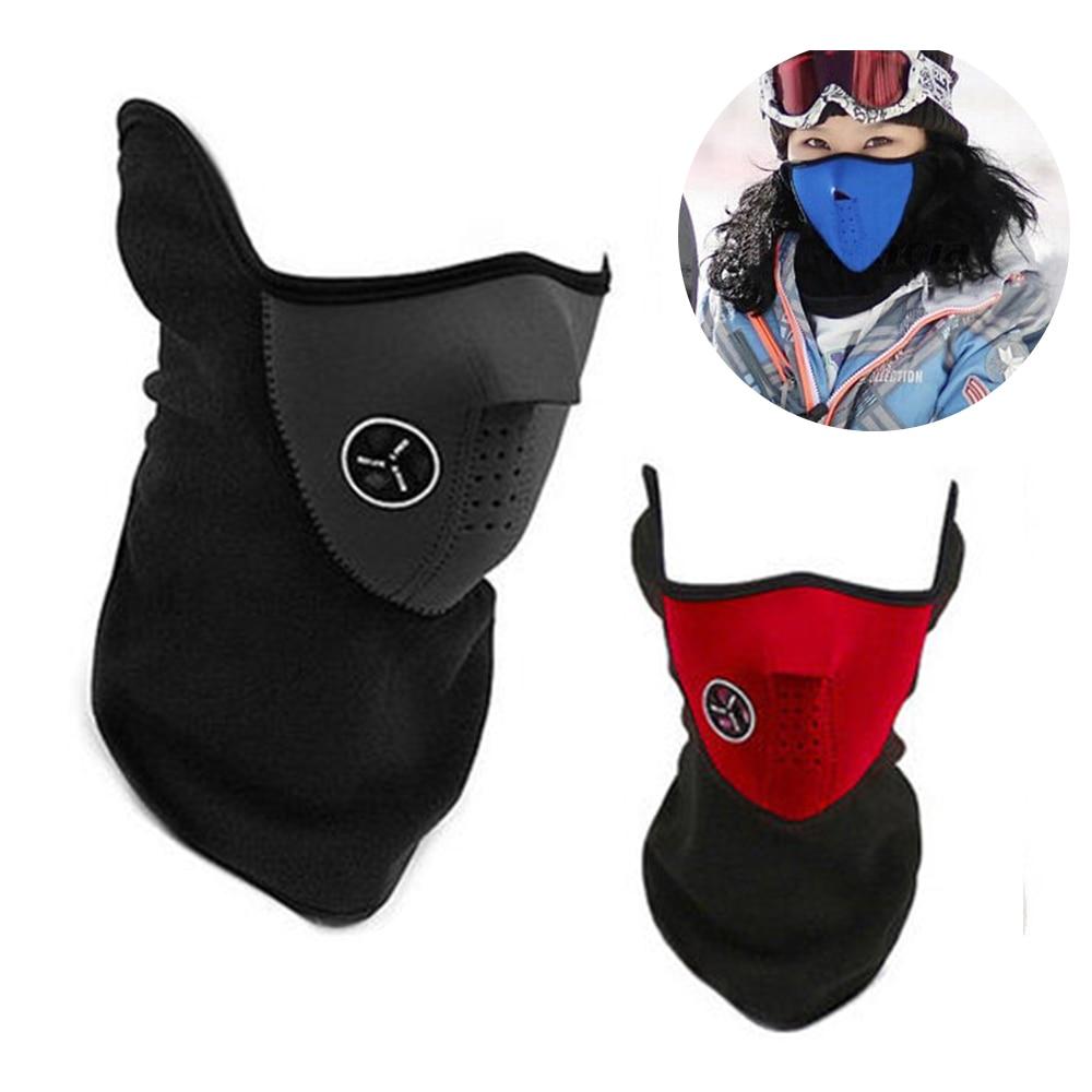 Thermal Fleece Balaclava Hat Hooded Neck Warmer Winter Sports Face Mask for Men Ski Bike Motorcycle Helmet Beanies Masked cap(China)