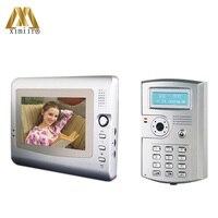 Видео дверной звонок для контроля доступа 7 Видео дверной телефон для виллы V7C D