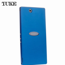 Высокое качество винт-менее Дизайн ультра тонкий Алюминий Металл Матовый чехол для Sony Xperia Z Ultra XL39h чехол SJ0207