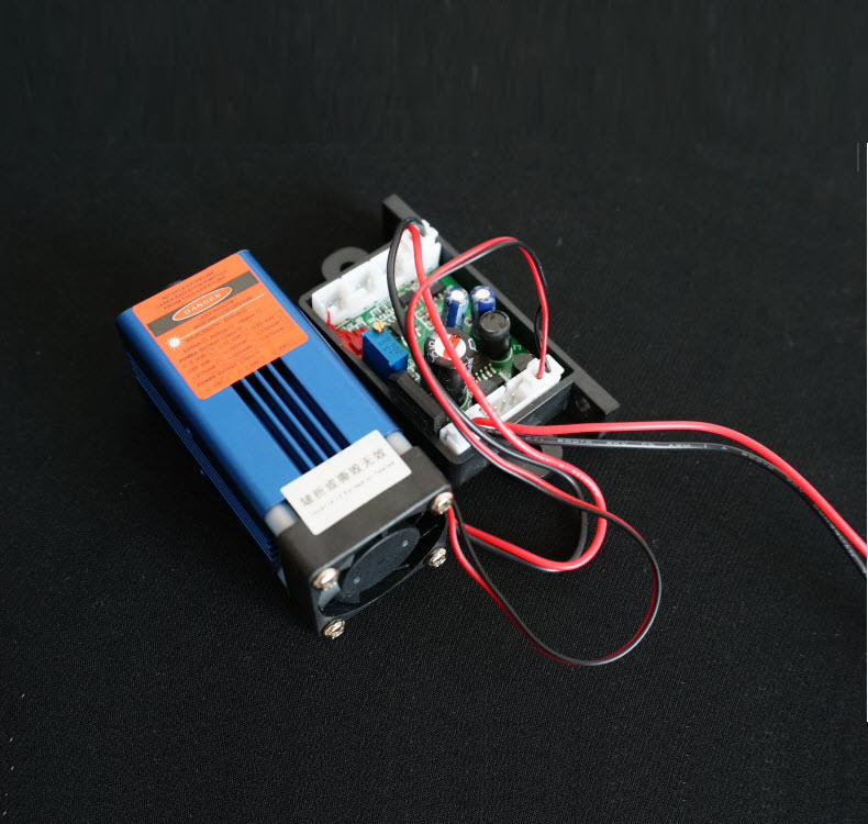 1W 850nm infrared laser module / air cooled TTL modulation