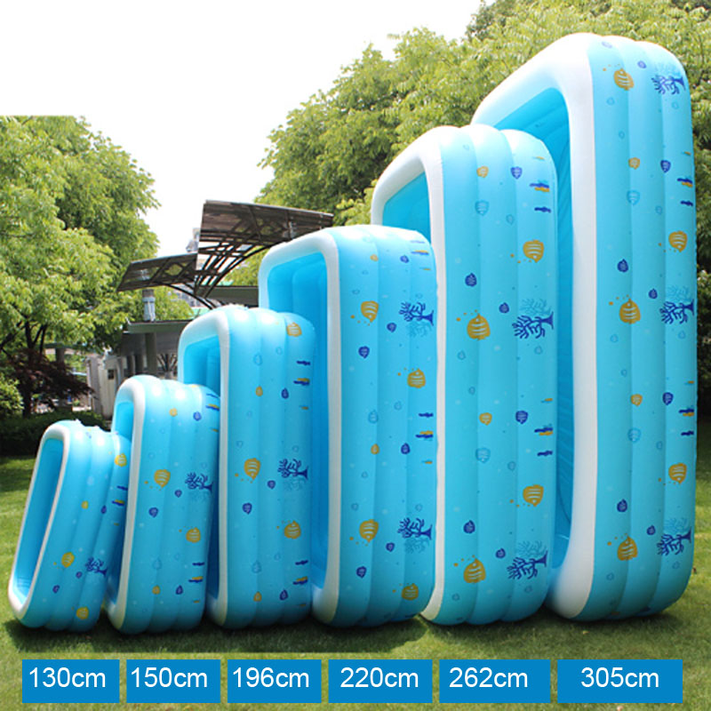 196CM Inflatable Swimming Pool
