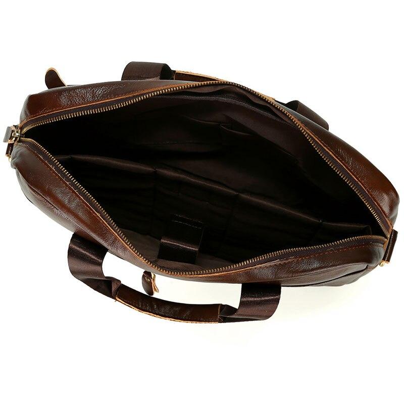 Décontracté hommes Messenger porte-documents sac ordinateur portable homme sacs à main en cuir PU hommes sacs à bandoulière Designer porte-documents pour homme voyage - 4