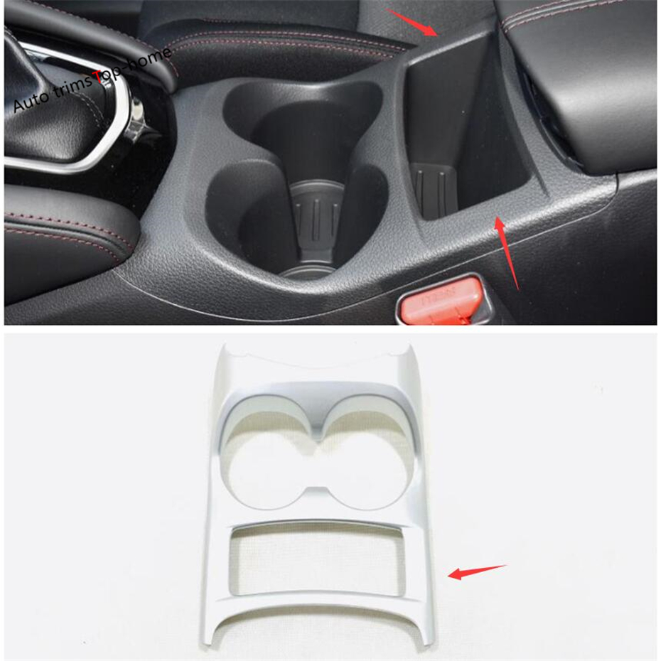 Yimaautotrims Front Console Central Water Bottle Cup Holder Trim Fit For Nissan Qashqai J11 2014 2019 ABS Interior Mouldings in Interior Mouldings from Automobiles Motorcycles