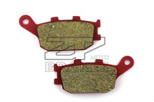 Motorcycle parts Ceramic Brake Pads Fit HONDA CB 600 FY/F1-6 Hornet 2000-2006 Rear OEM New Red Composite Free shipping