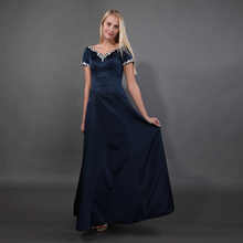 Navy Blue Mother Of The Bride Dresses Sh