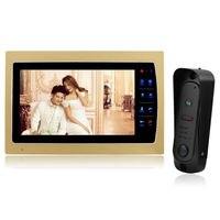 YSECU 7 Touch Button Video Door Phone Intercom 1200TVL CMOS 1 3 Inch Rainproof IP65 Night
