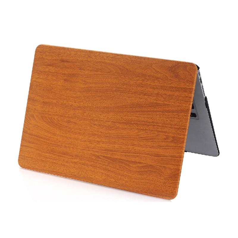NAUJAS medienos grūdų plastikinis dangtelis Macbook Air 11 13 Pro - Nešiojamų kompiuterių priedai - Nuotrauka 5