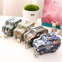 Creative military car shape cute piggy Piggy Coin jar children creative gifts decoration decoration free shipping