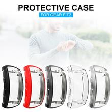 Protector Case Soft TPU Plated Rugged Cover All-Around Waterproof Dustproof Scratch-Proof For Gear Fit
