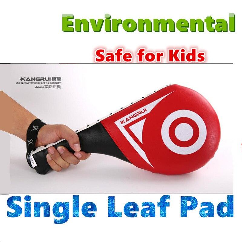 Erwachsenes Kind Taekwondo Ziele Training Fuß Ziel Karate Pads MMA Single Leaf Pad Hand-Ziel Drumsticks Doppelblätter