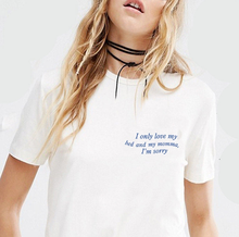 Women Fashion Aesthetic Harajuku Causal Grunge Tee Shirt T-Shirt Hipsters Street Style