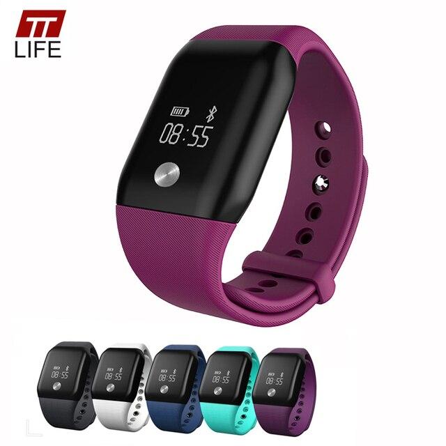 A88 + Smart Watch Многофункциональный Сенсорный OLED-ДИСПЛЕЙ 0.66 inch TTLIFE Марка Смарт Браслет Большой Экран Жизнь Водонепроницаемый Smartwatches 2016