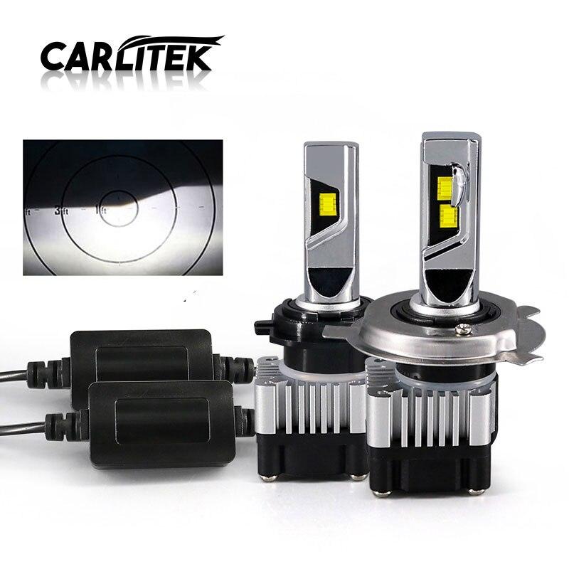CARLitek Super Mini Led H1 HB3 HB4 H4 H7 H11 Car Head Light Lamp 72W 8000LM CSP 6000K Led Fog Lights Bulb Headlight 12V 24V