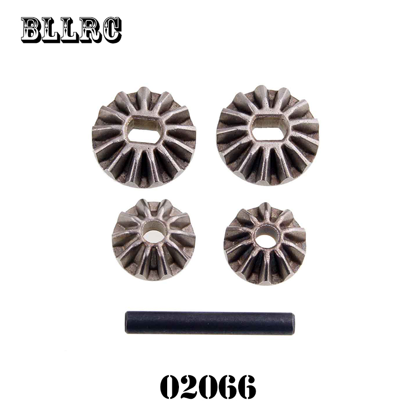 RC Car 02066 Pinions+Bevel Gears+Pin For 1/10 RC Model Car Flying Fish HSP 94122 94123 94106 94166 94155 94177 94188 94108 94111 hot sale gear differential set 02024 for hsp 1 10 car buggy truck 94102 94123 94188