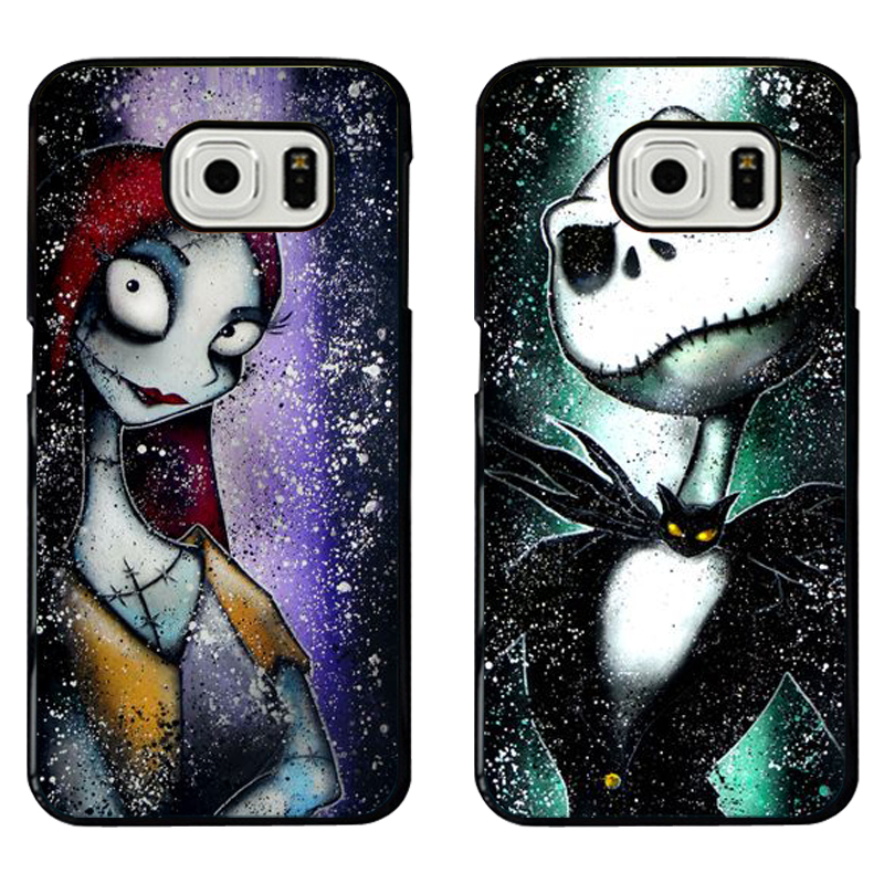 Nightmare Before Christmas Jack and Sally Phone Covers For Apple ...