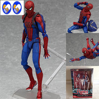 Figma Spiderman Toys The Amazing Spider Man Action Toy Figures Figma 199 Toys Ultimate Series Toys