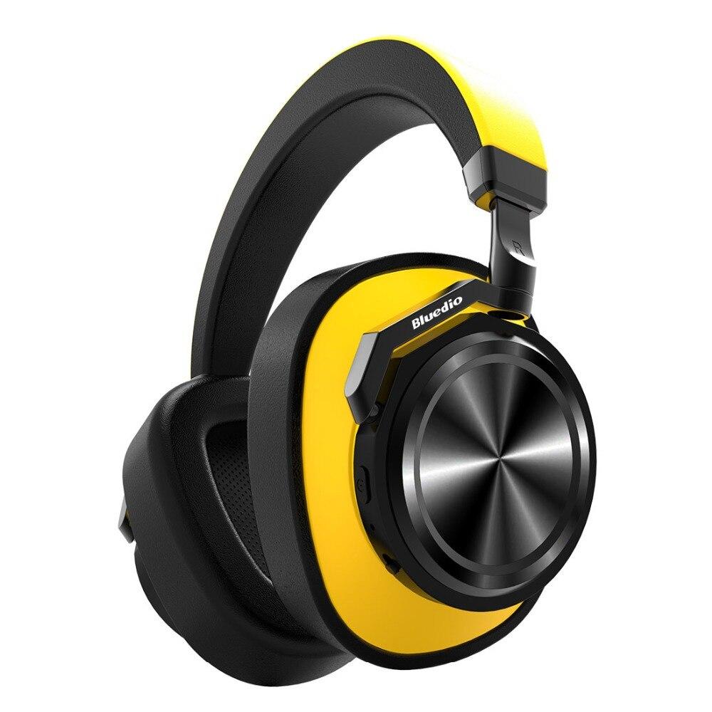 Bluedio T/6 auriculares inalámbricos Bluetooth Cancelación de ruido activa con micrófono para teléfonos y música