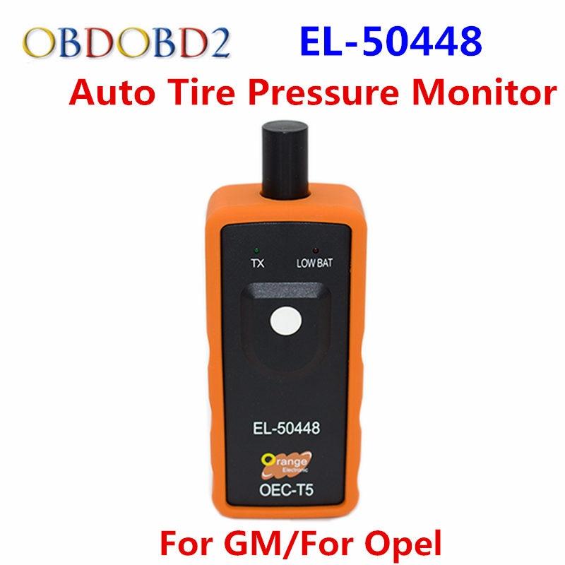 EL-50448 Auto Tire Pressure Monitor Sensor TPMS Activation Tool EL 50448 OEC-T5 For GM Vehicle Monitor Sensor EL50448