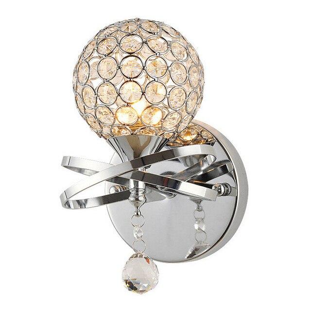 Lampe murale moderne boule de cristal applique murale lumi re chambre chevet lampes 40 W blanc.jpg 640x640 Résultat Supérieur 15 Merveilleux Applique Murale Lumiere Image 2017 Kqk9