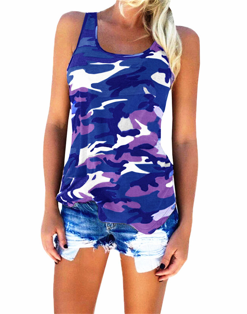 f3dab33318be9 Aliexpress.com : Buy YRRETY Women Casual O neck Striped Tank Tops ...