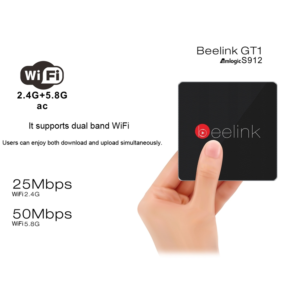Beelink GT1 RAM2G ROM 16G Amlogic S912 Android 6 0 TV Box 4K Dual WiFi Bluetooth aliexpress com buy beelink gt1 ram2g rom 16g amlogic s912  at suagrazia.org