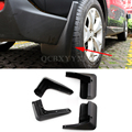 4 unids Carstyling ABS Mud Flap Guardabarros Antisalpicaduras Guardabarros Guardabarros Perfector Decoración Externa Para Subaru XV Outback Forester
