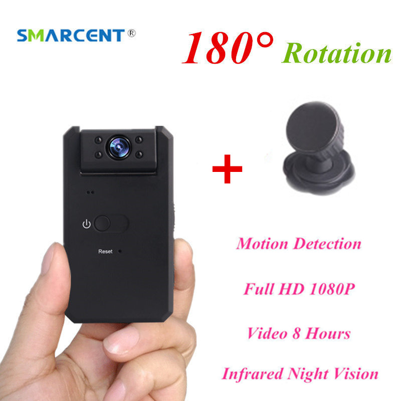 SMARCENT MD90 Mini DV Camara 1080P Infrared Night Vision Nanny Micro Kamera Motion Detection Secret Camera Camcorder pk SQ8 SQ11