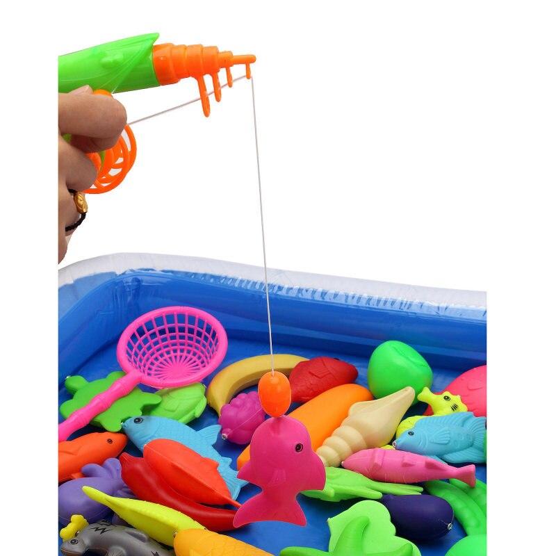детская игрушка рыбки с удочкой